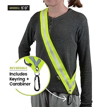 Amazon.com: Moonsash - Cinturón reflectante de seguridad ...