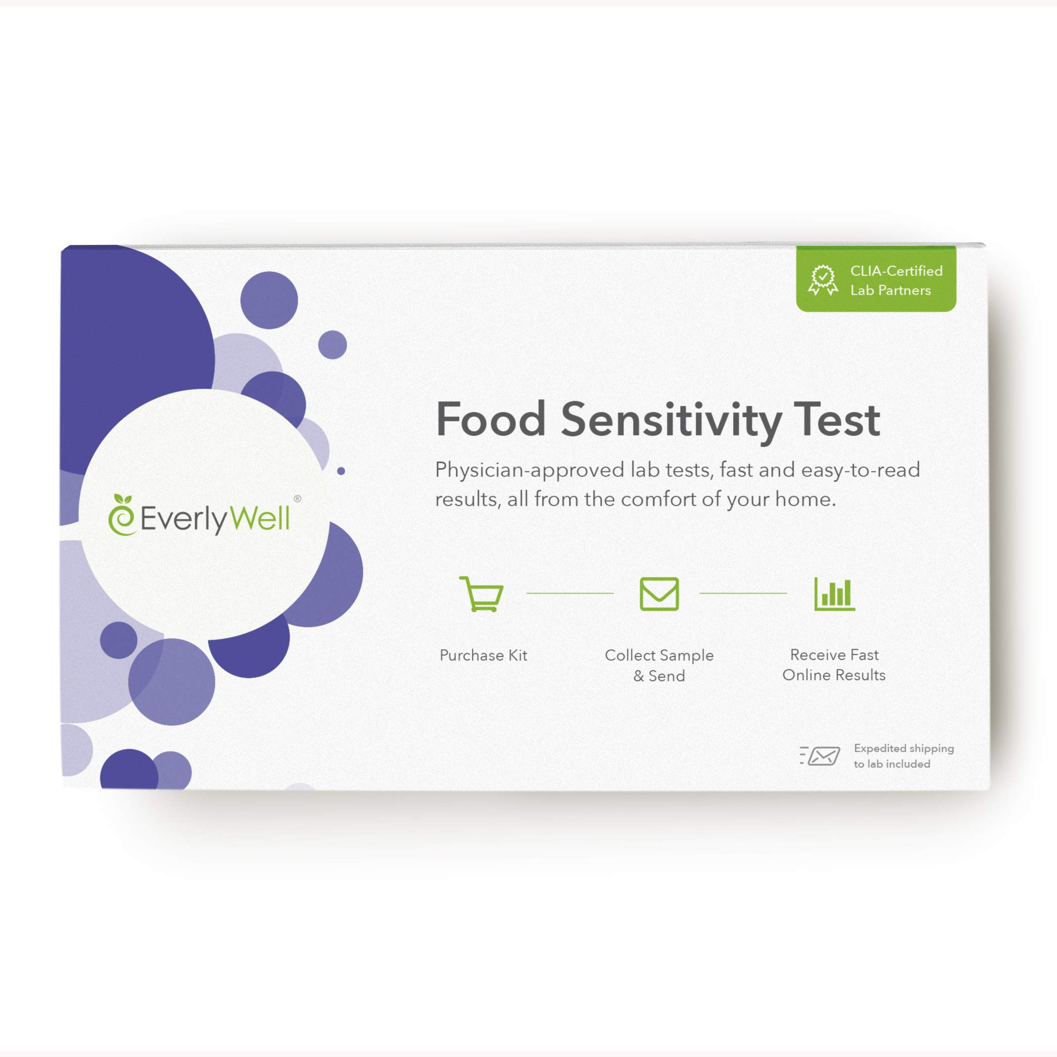 EverlyWell - at-Home Food Sensitivity Test- Learn How Your Body Responds to 96 Different Foods (Not Available in MD,New York, NJ, RI) by Everly Well