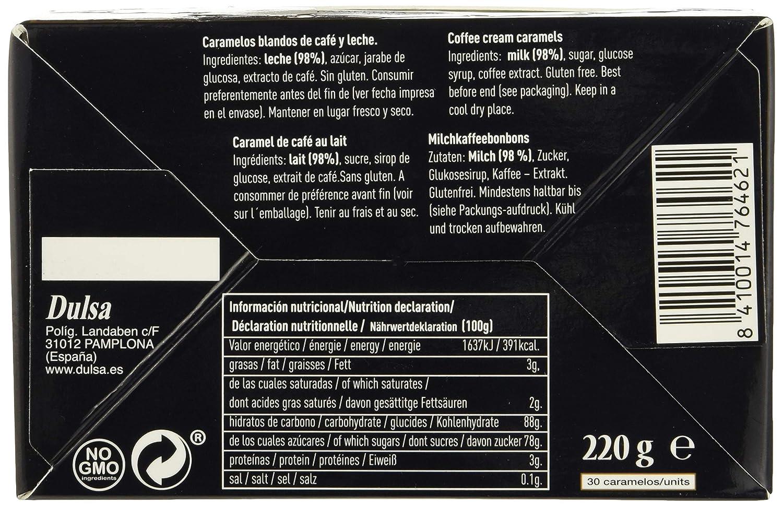 Dos Cafeteras, Caramelo masticable (Café, Leche) - 220 gr.: Amazon.es: Alimentación y bebidas