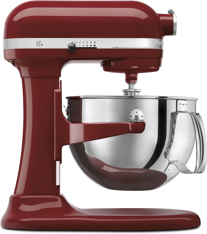 Empire Red Kitchenaid kp26n9 6-Quart Stand Mixer