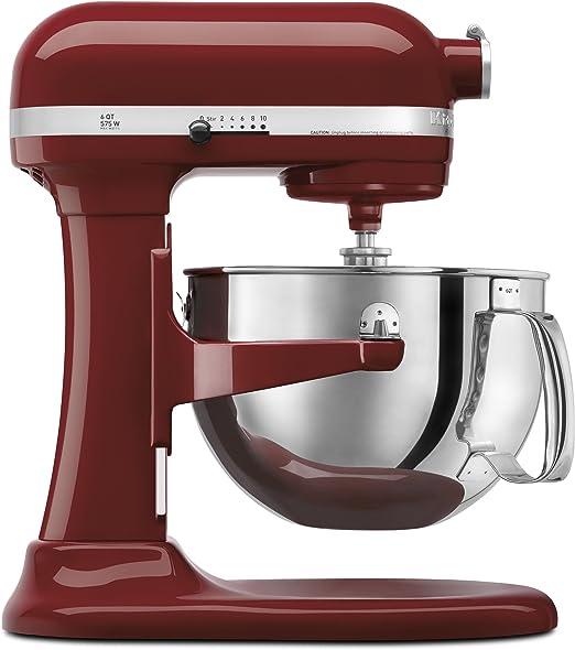 KitchenAid KP26M1PGC Professional 600 Series 6-Quart Stand Mixer, Cinnamon Gloss by: Amazon.es