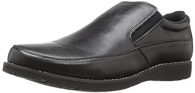 Propet Men's Grant Slip-on Loafer, Black, ...