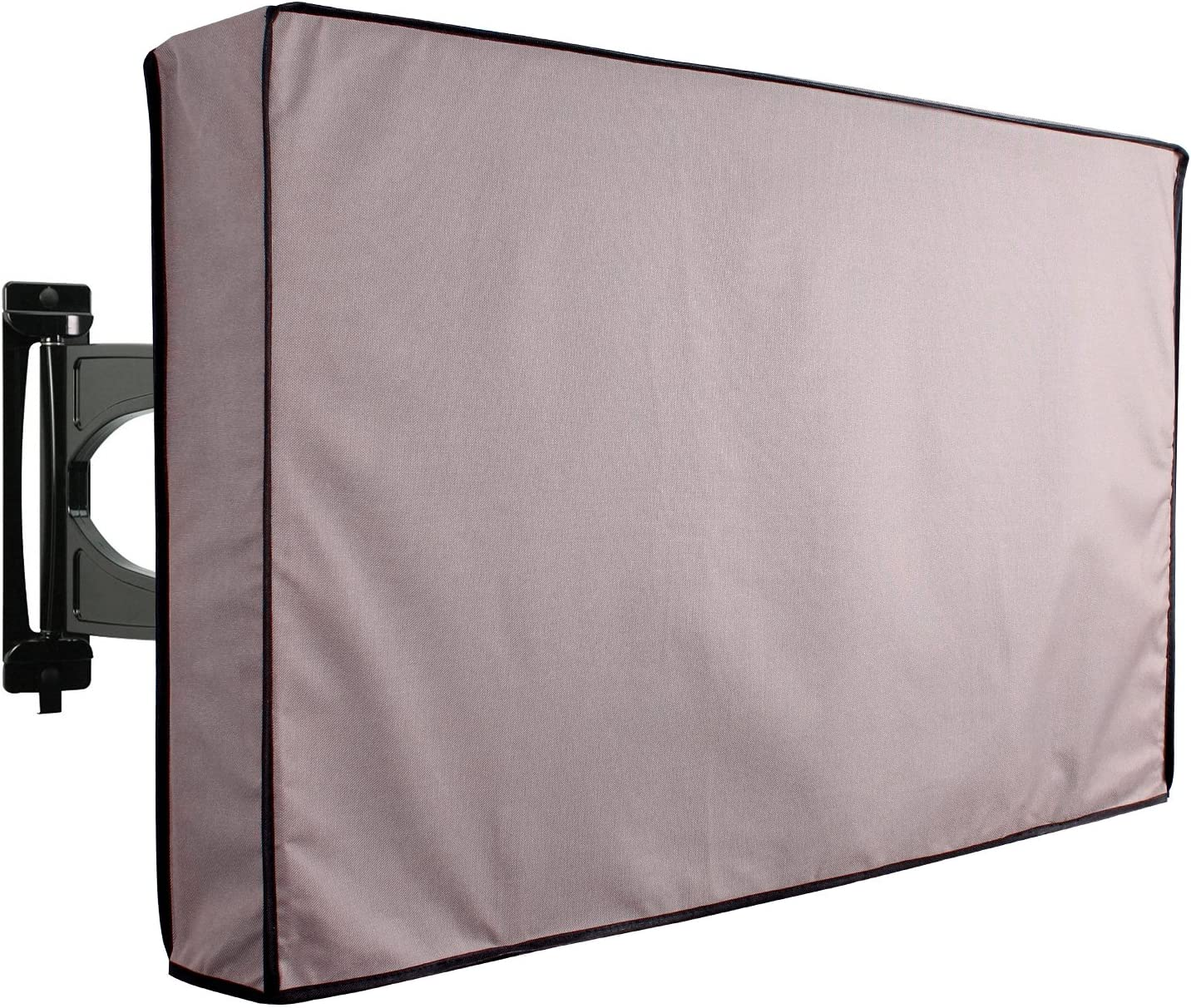 KHOMO GEAR Outdoor TV Cover Fits Most Mounts /& Brackets Universal Weatherproof Protector for 50-52 Inch TV Titan Series