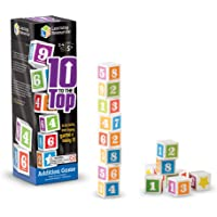 Learning Resources 10 to The Top Addition Game (30 Piece)