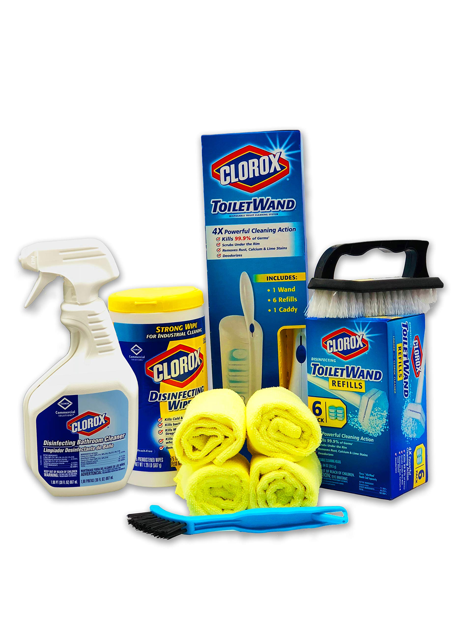 Clorox Products Bathroom Cleaning Kit 7 Piece Set by Clorox