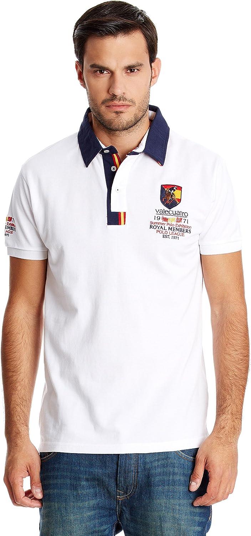 Valecuatro Polo España Blanco XL: Amazon.es: Ropa y accesorios