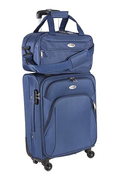 CABIN GO Max 5550 Trolley con equipaje de mano Tamaño de cabina pequeña - Carro suave con ...
