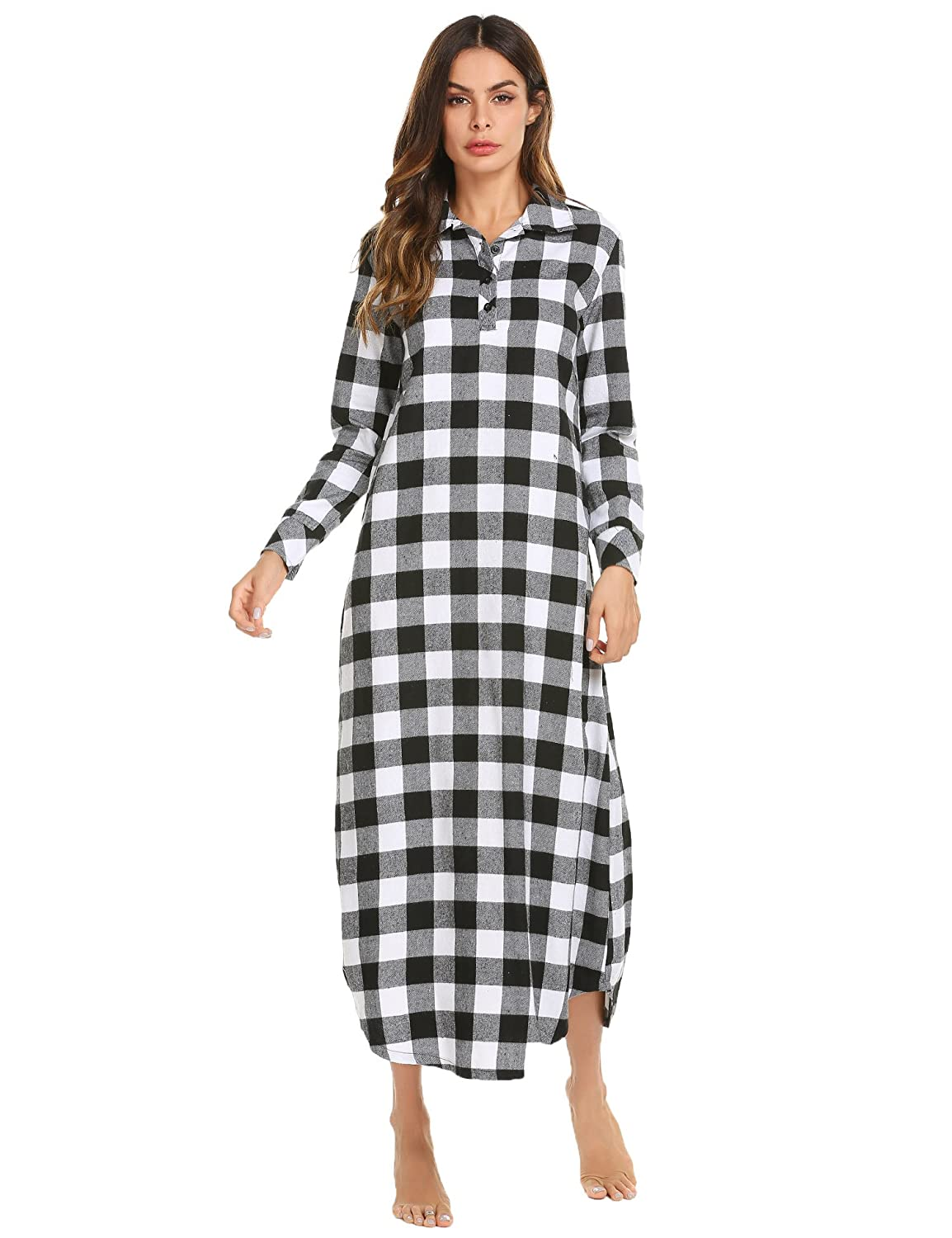 7612ec4d35 Ekouaer Nightgown