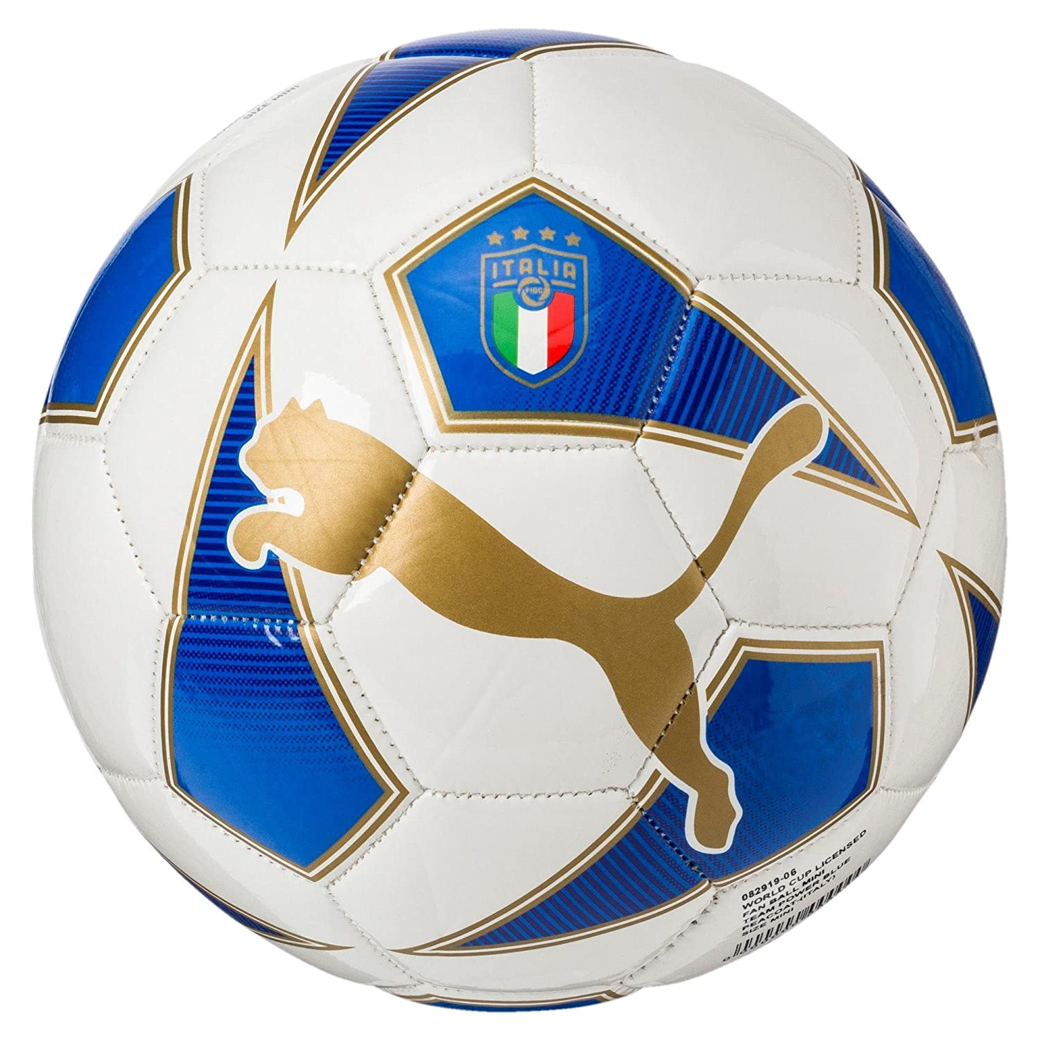 Puma World Cup licensed Fan Ball Mini TEAM POWER BLUE 18 20 Italy 9afdb745bde19