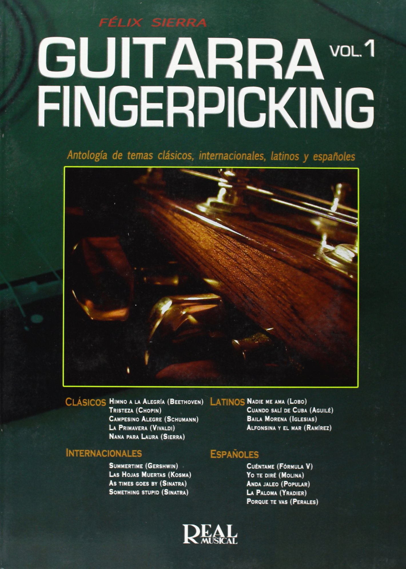 Guitar Fingerpicking, Vol.1: Amazon.es: Sierra, Félix, Guitar ...