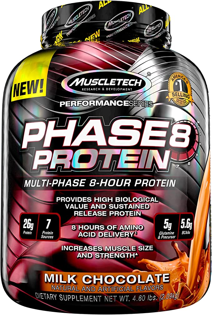 Muscletech Performance Series Phase 8 (4.6lbs) 2100 gr ...