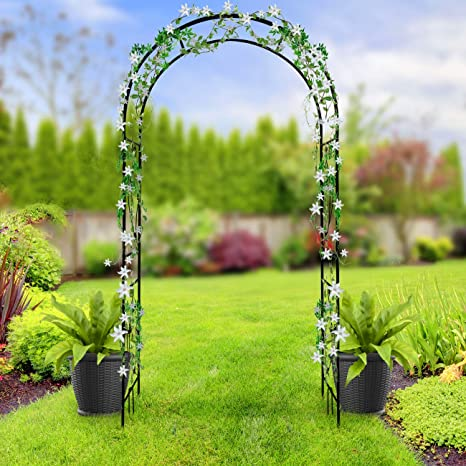 Sorbus® - Arco de pérgola de jardín para Plantas trepadoras, Rosas ...
