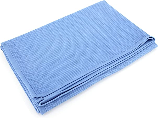 Pure Honeycomb Shower Towel 90 x 160 White