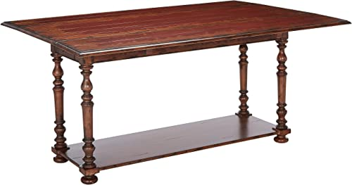 Hooker Furniture Vicenza Drop Leaf Console Table, Red