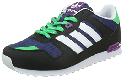 adidas Zx 700, Sneakers Basses mixte enfant, Bleu (Midnight Indigo White  54ec905243b7