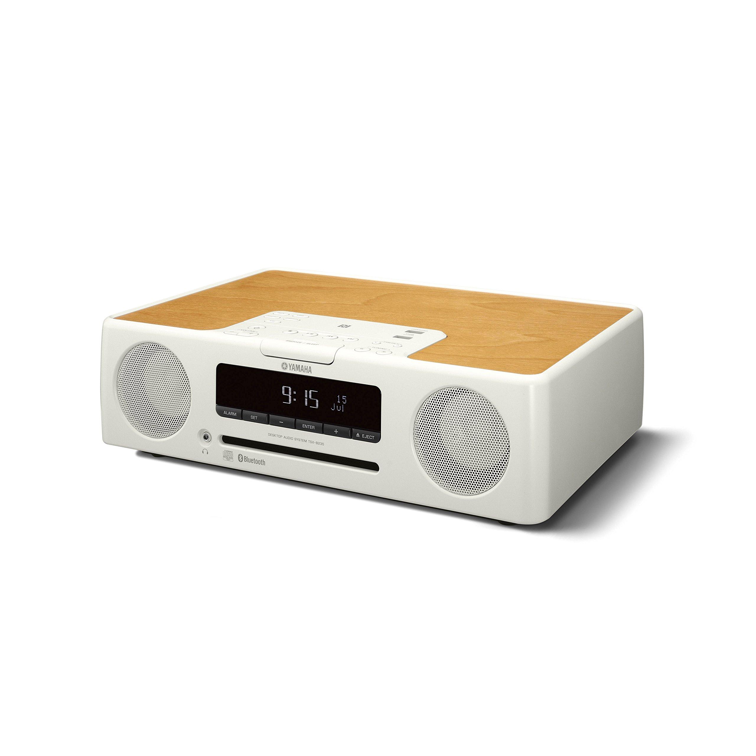 Yamaha TSX-B235WH Desktop Audio with Bluetooth (White) by Yamaha Audio