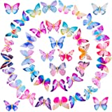 SIQUK 40 Pcs Butterfly Clips 90s Butterfly Hair Clip Barrettes for Women and Girls