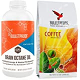 Bulletproof Upgraded Coffee 12 OZ - Brain Octane Edition 16 fl OZ, Starter Kit