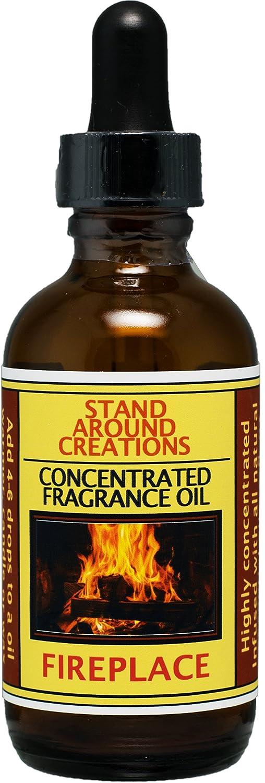 フレグランスオイル – 暖炉:集中するの森林、Earthyアロマ。True to It 's名前。。注入W/Essential Oils。(2 fl oz) B018XG0K0M