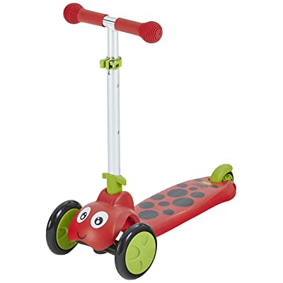 Scootie Bug Scooter for Toddlers - Stable 3 Wheel Scooter Design - Ladybug: Toys & Games
