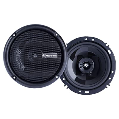 Memphis Audio PRX602 Power Reference 6.5 Inch 50 Watt RMS 100 Watt Peak Power Car Audio Coaxial Speaker System : Electronics