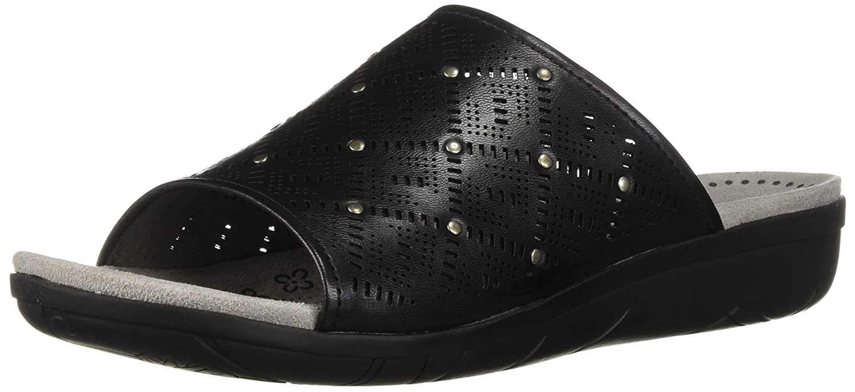 BareTraps Women's Jaylyn Slide Sandal B075XX14FG 6.5 B(M) US|Black/Silver