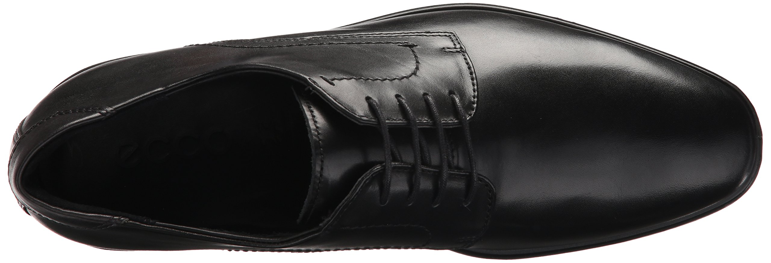 ECCO Men's Melbourne Tie Oxford, Black/Magnet, 43 EU/9-9.5 M US by ECCO (Image #8)