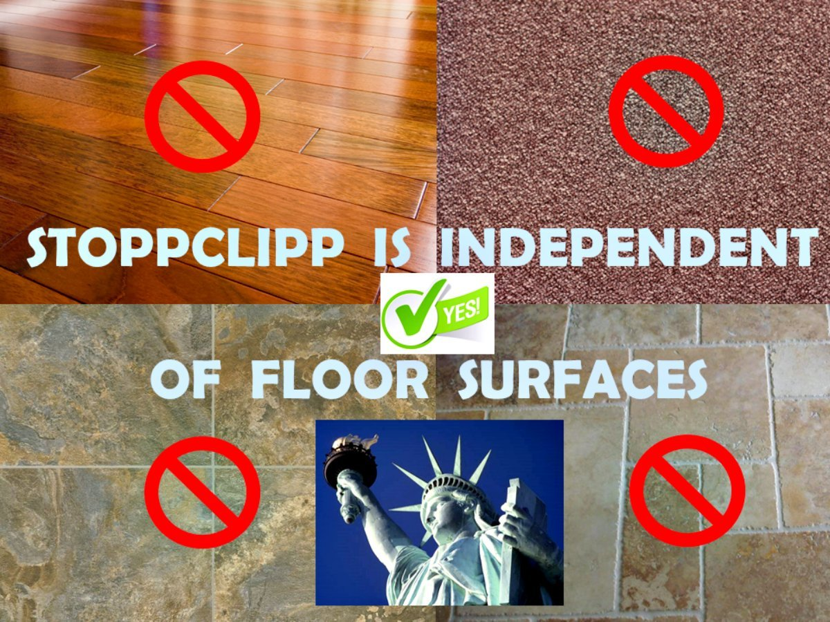 StoppClipp Premium EXTERIOR Door Stopper, Secure EZ Clip-On Door Stop, Tamper-proof Children's fingers or toes pinch guard, Prevents Pets lockout, 100% Made In USA (2 PK EXTERIOR DOOR STAINED) by StoppClipp (Image #6)