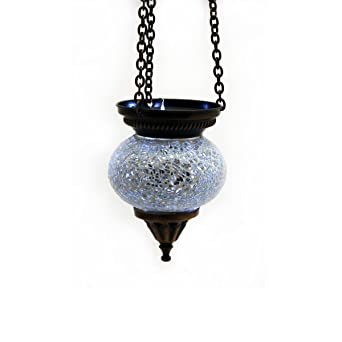 Mosaique Lampe Suspension Photophore Lampe Suspension Plafonnier
