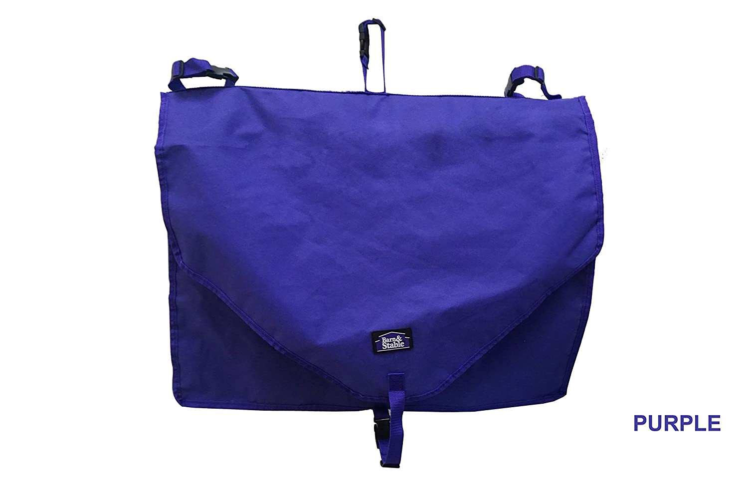 Purple Barn & Stable Stall Front Blanket Storage Bag