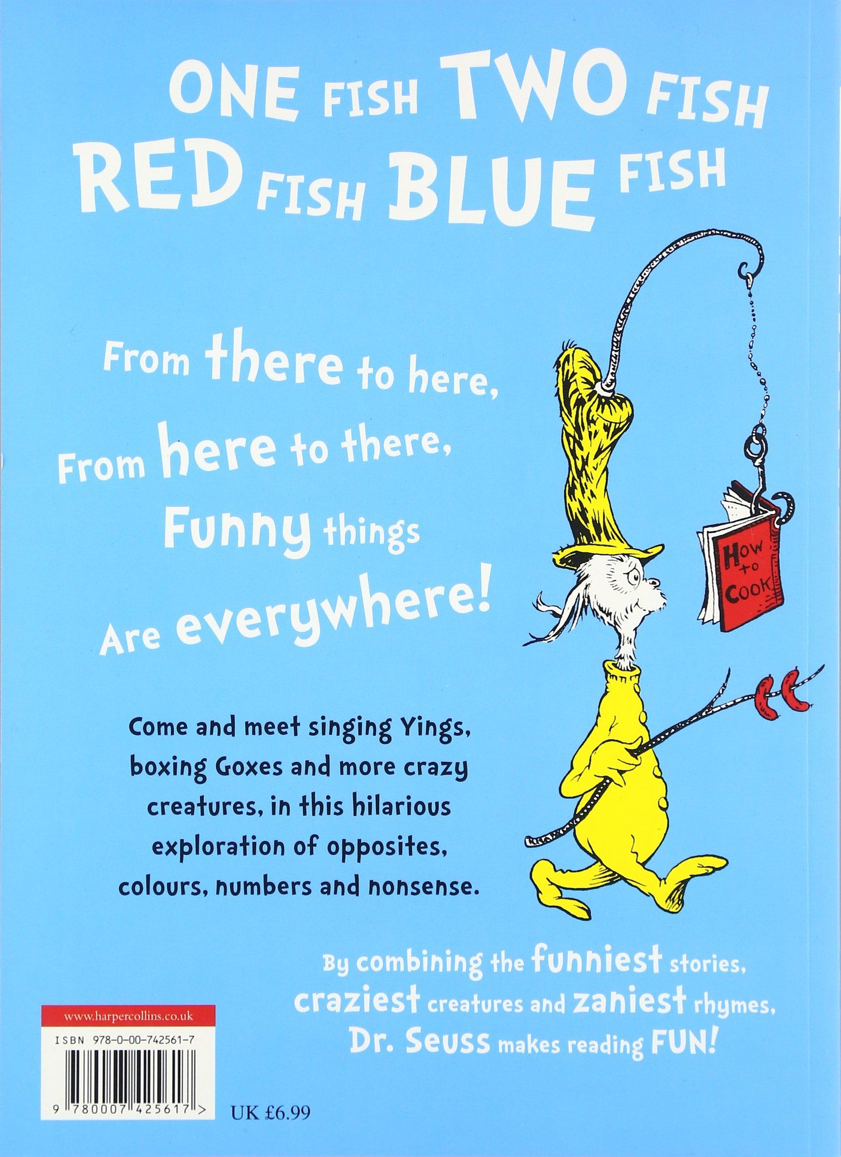 One Fish, Two Fish, Red Fish, Blue Fish. Dr. Seuss: Dr Seuss:  9780007425617: Amazon.com: Books