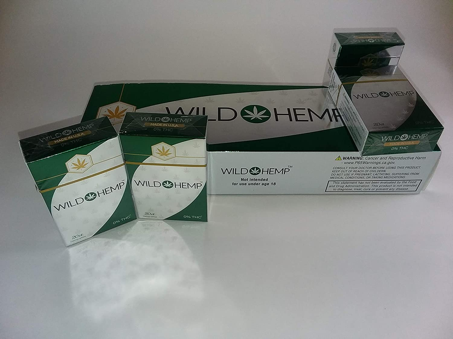 Herbal Cigarettes Cannabis Free Carton