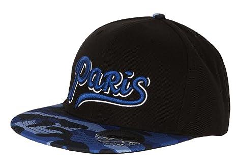 acdb379cf0b17 Casquette PARIS - Collection Sportwear - Taille adulte homme: Amazon.fr:  Sports et Loisirs