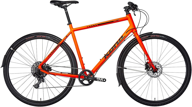 Kona Dr. Dew - Bicicletas híbridas - naranja Tamaño del cuadro 55 ...