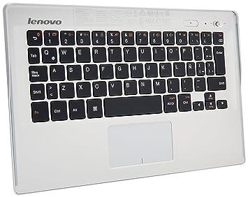 """Lenovo BKC600 - Cubierta-teclado con Bluetooth para tablet Yoga de 10"""""""