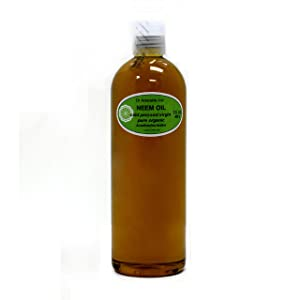 Organic Pure Carrier Oils Cold Pressed 16 Oz/1 Pint (Neem Oil)