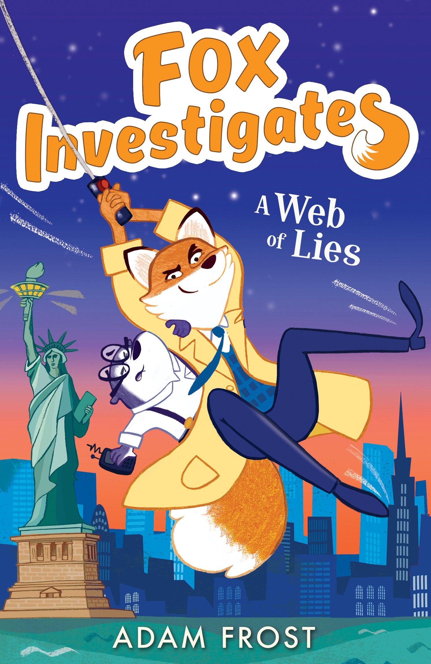 Read Online A Web of Lies (Fox Investigates) ebook