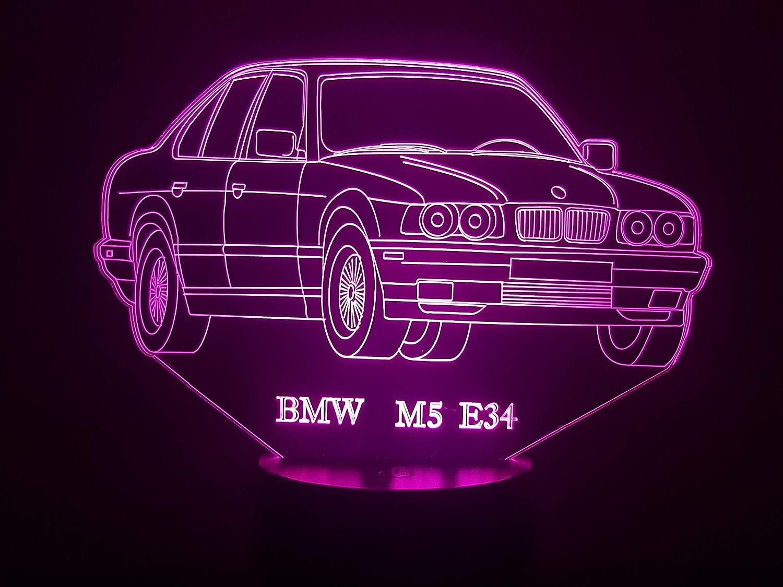 BMW M5 E34, lá mpara LED 3D lámpara LED 3D