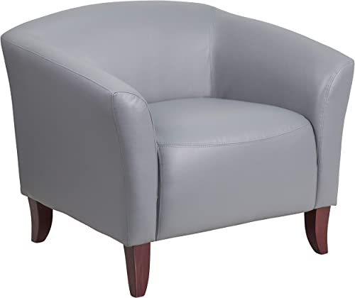 Flash Furniture HERCULES Imperial Series Gray LeatherSoft Chair