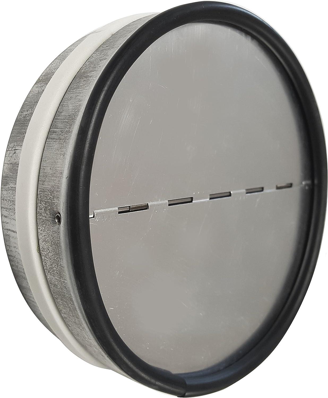 Rohrverbinder mit Rückstauklappe Abluftrohr Abluftkanal von 100 mm bis 200 mm