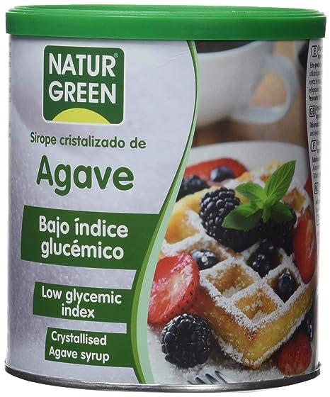 Indice glucemico jarabe de agave