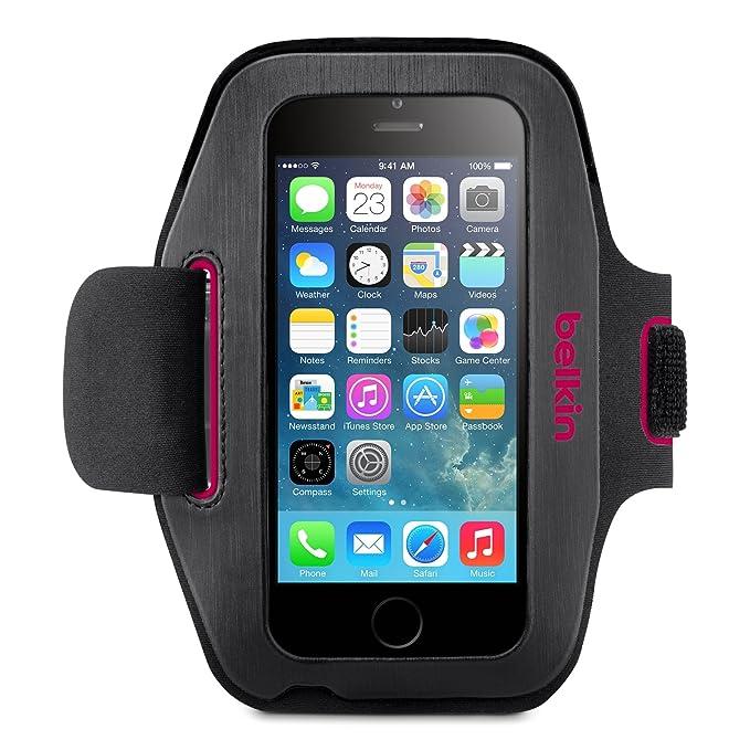 10 opinioni per Belkin F8W500btC01 Slim-Fit Plus Fascia da Braccio per iPhone 6 e iPhone 6S,
