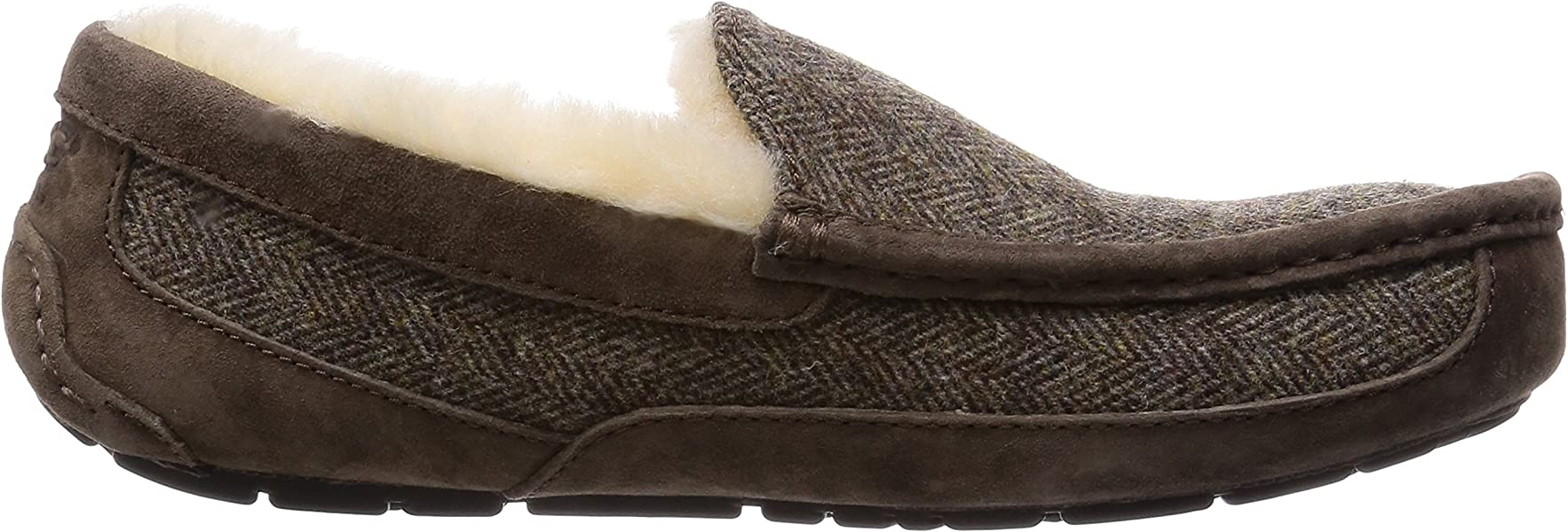 cb3ea864895 Australia Mens Ascot Wool Slipper