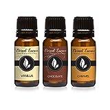 Trio (3) - Vanilla, Chocolate & Caramel - Premium