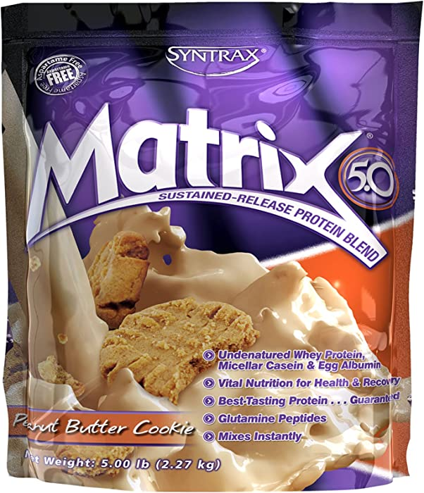 Syntrax Matrix 5.0 Peanut Butter Cookie - 5 lbs