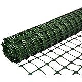 SORARA Kunststoffnetz/Zaun/Barriere Grün | 30 M/3000 CM lang | 1,2 M/120 CM hoch/langlebig/Maschen/Rolle/Rasen/Garten/Landwirtschaft/Außenbereich/Bau/Warnungen