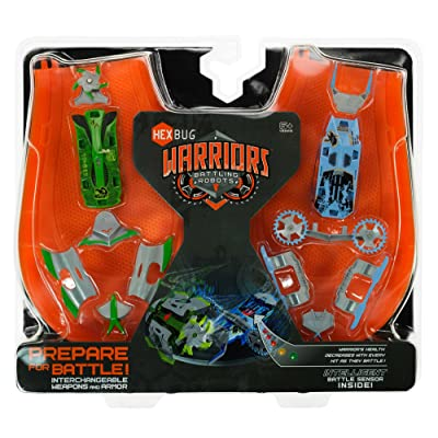 Hexbug Battling Warriors: Viridia Vs. Bionika [2013 Edition]: Toys & Games