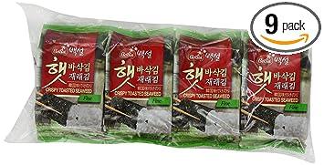 CJ Seasoned Seaweed Snacks, 0 18-Ounce Packages (Pack of 72)