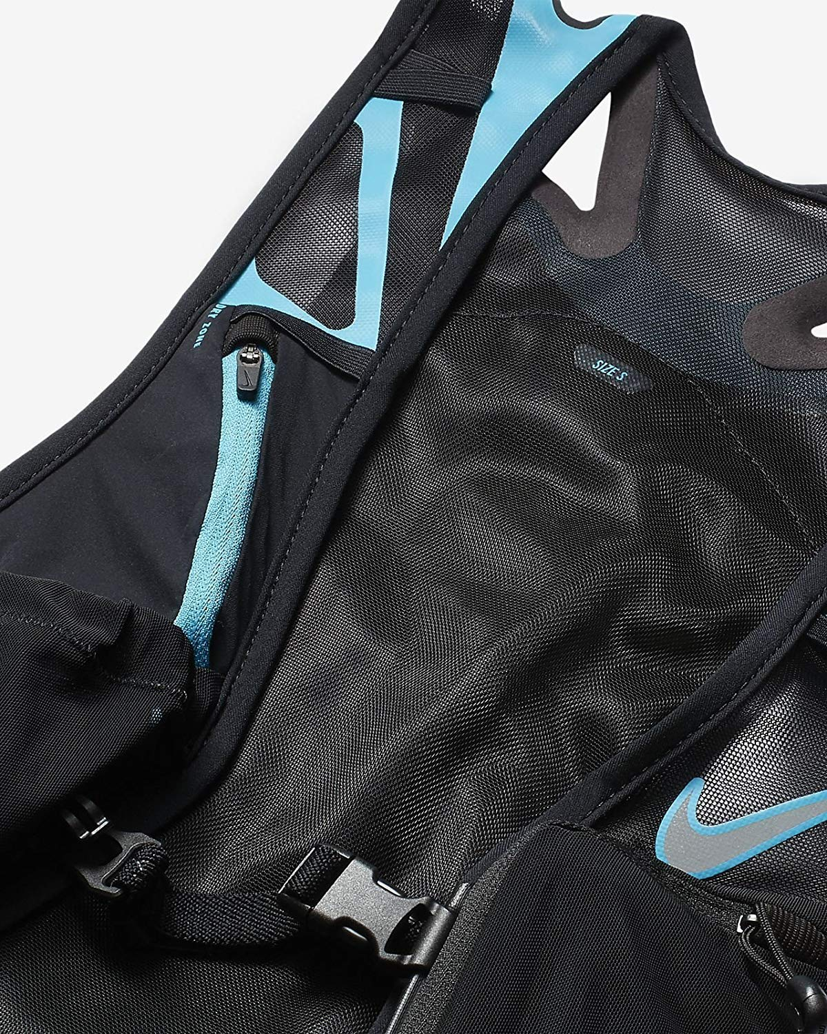 Amazon.com : Nike Trail Kiger Vest 3.0, Running, Hiking, Black/Blue : Sports & Outdoors