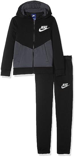 75debf562d0834 Nike B NSW TRK Suit BF Core Survêtement pour Enfant M Multicolore -  Noir Anthracite